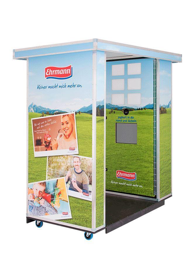 Fotoautomat mit Münzeinwurf